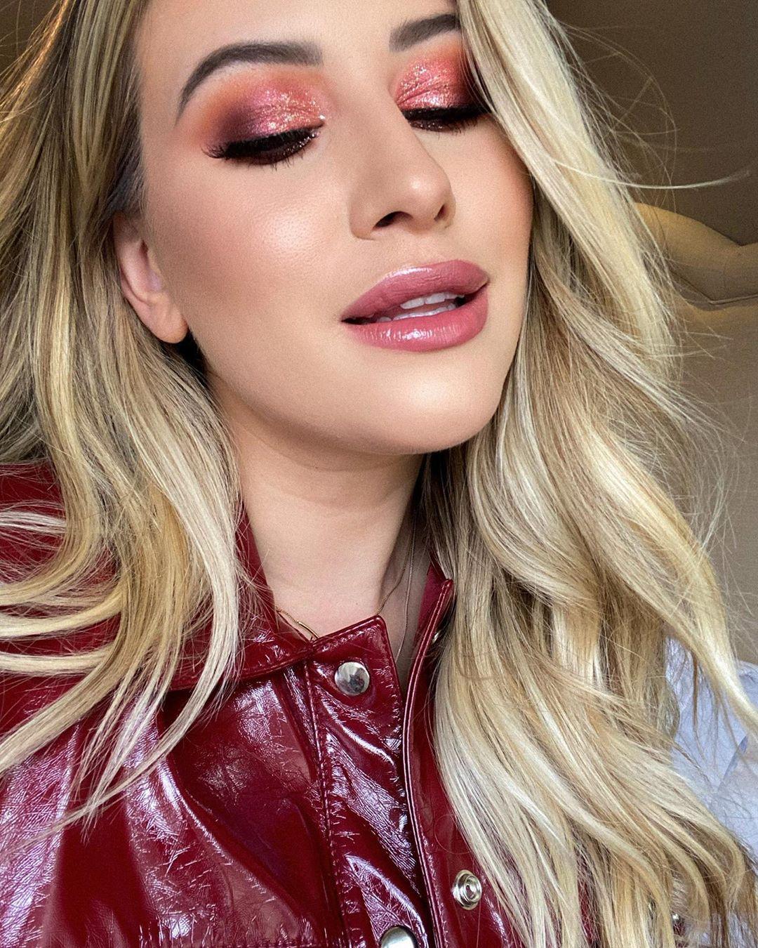 maquiagem rosa 20