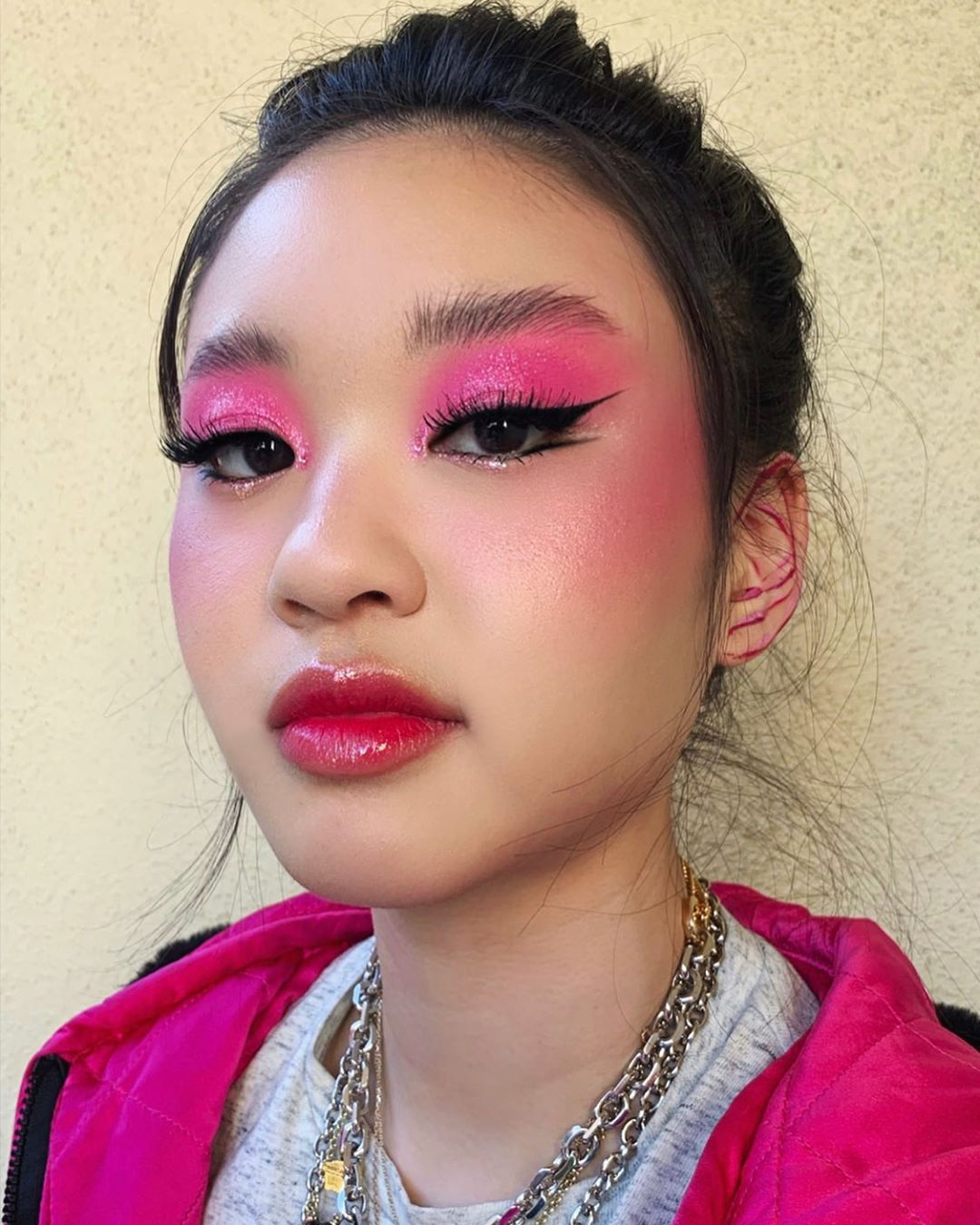 maquiagem rosa 22