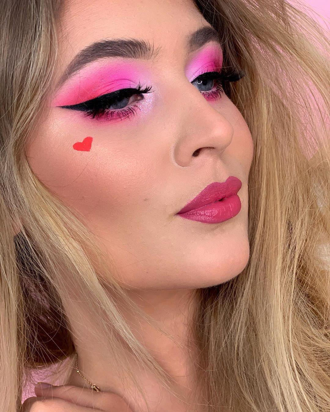 maquiagem rosa 24