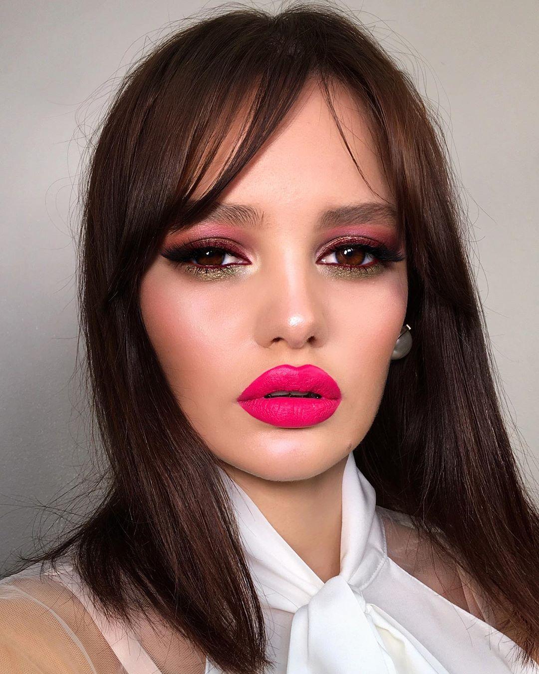 maquiagem rosa 33