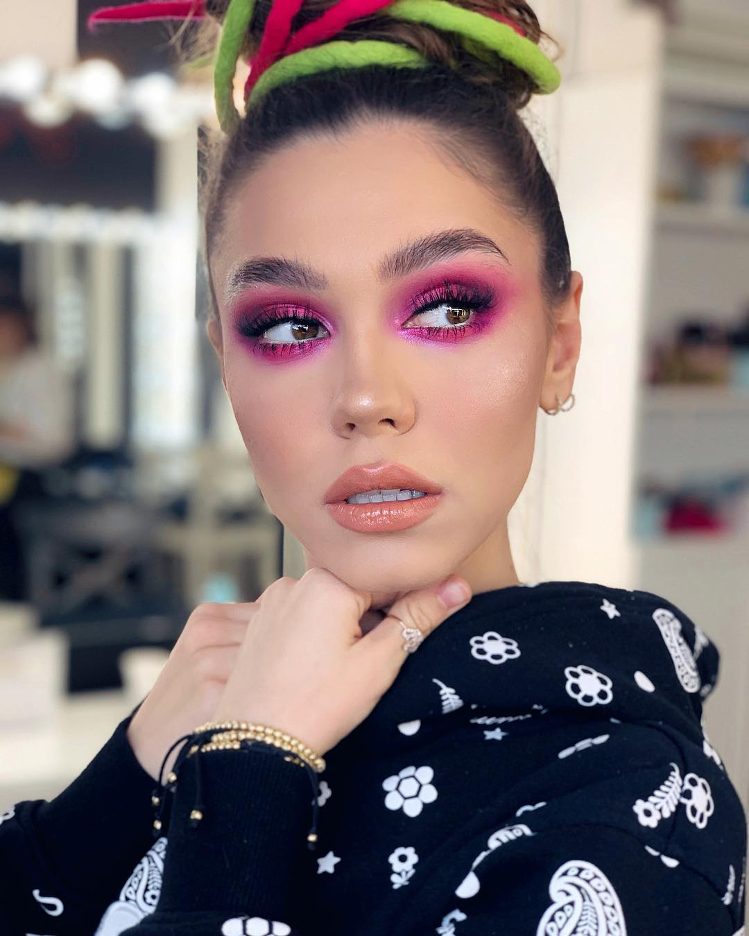 maquiagem rosa 41