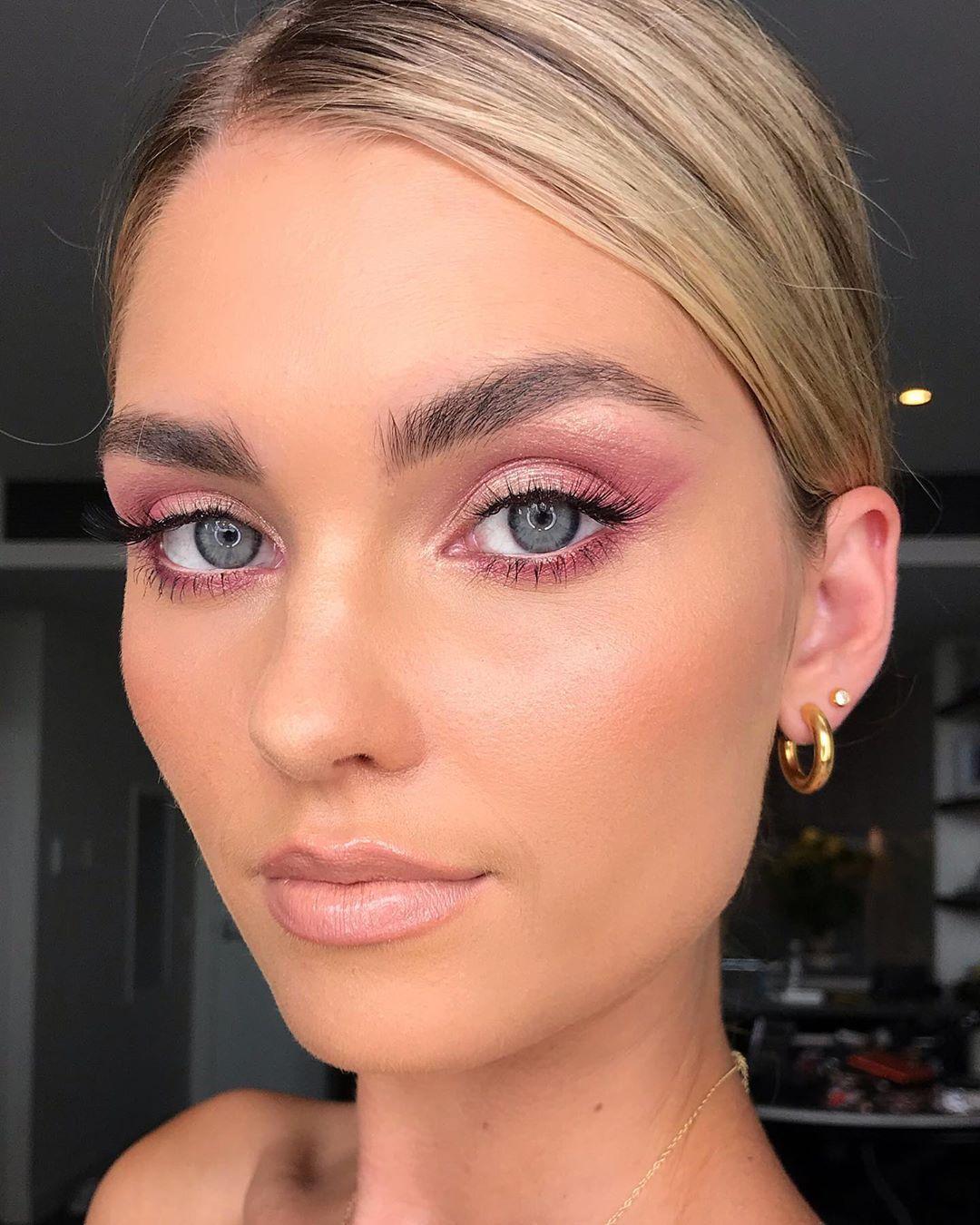 maquiagem rosa 11