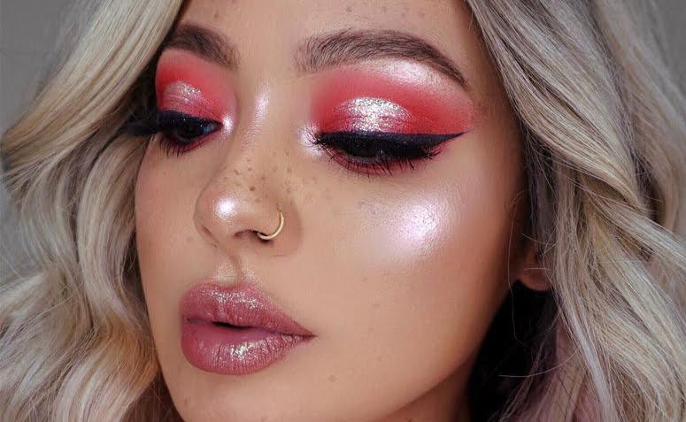 maquiagem rosa 1