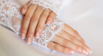 Unhas para noivas: 42 ideias para brilhar no seu grande dia