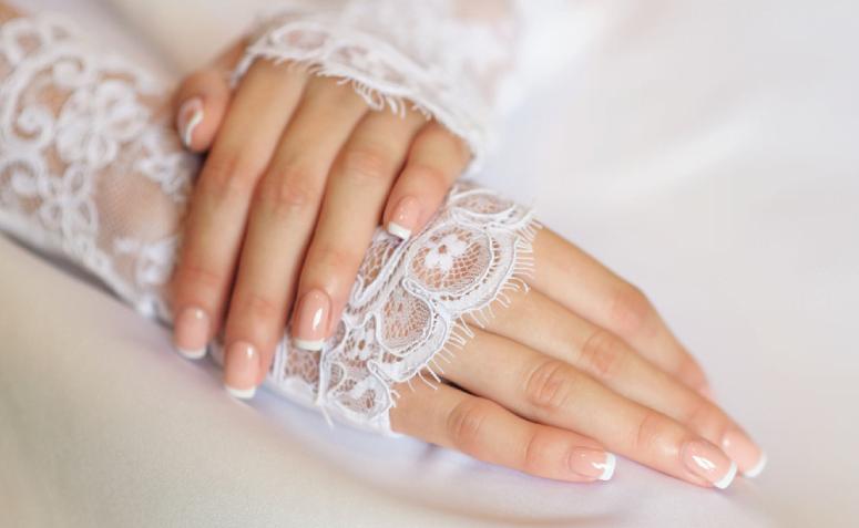 Unhas para noivas: 42 ideias para brilhar no seu grande dia - 1