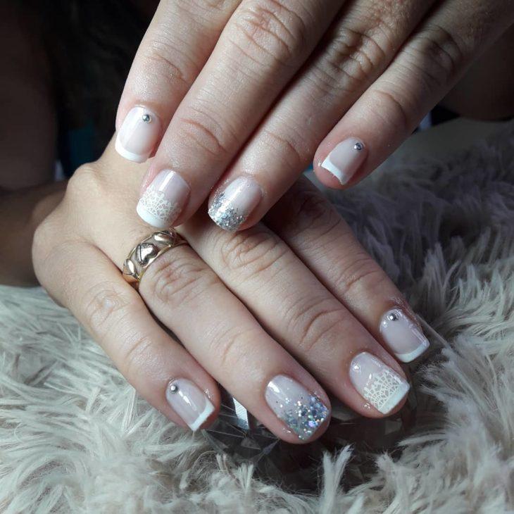 Unhas para noivas: 42 ideias para brilhar no seu grande dia - 9