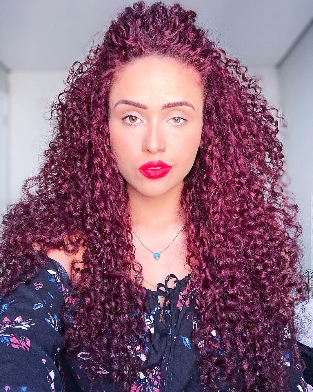 cabelo cacheado colorido 10
