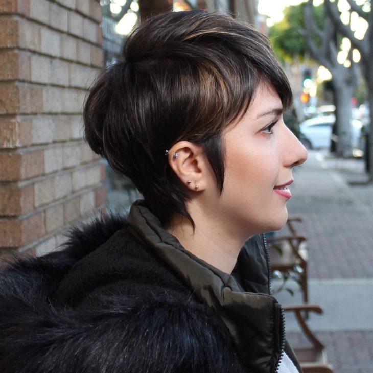 cabelo curto com franja 8
