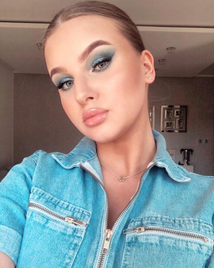 maquiagem azul 4