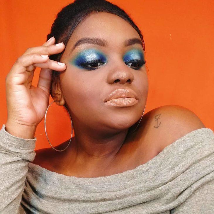 maquiagem azul 5