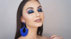 Maquiagem azul: se inspire e aprenda a fazer esta make que é tendência