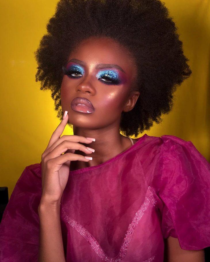 maquiagem azul 12