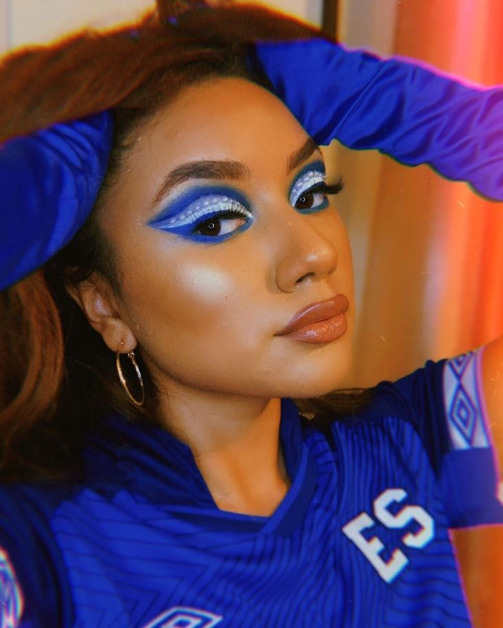 maquiagem azul 18