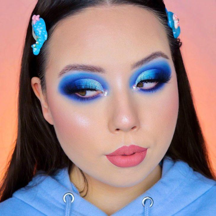 maquiagem azul 20