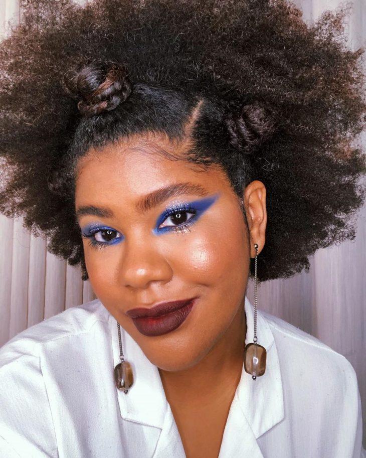 maquiagem azul 21
