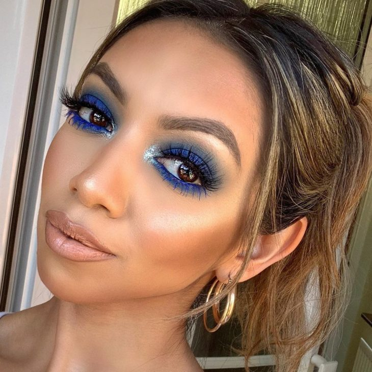 maquiagem azul 22