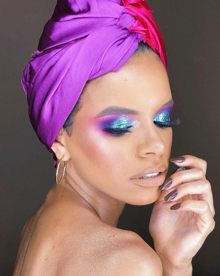 maquiagem azul 24