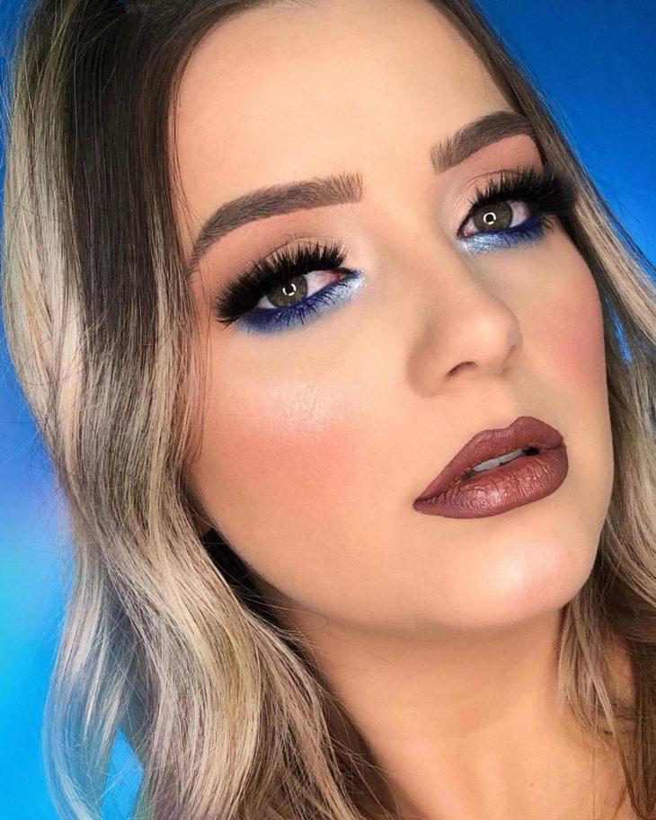 maquiagem azul 25