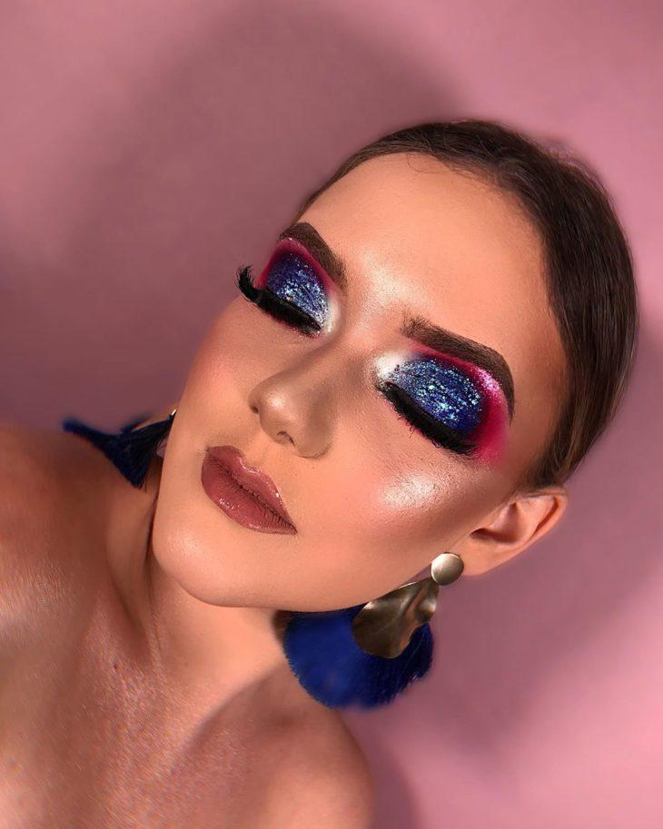 maquiagem azul 26