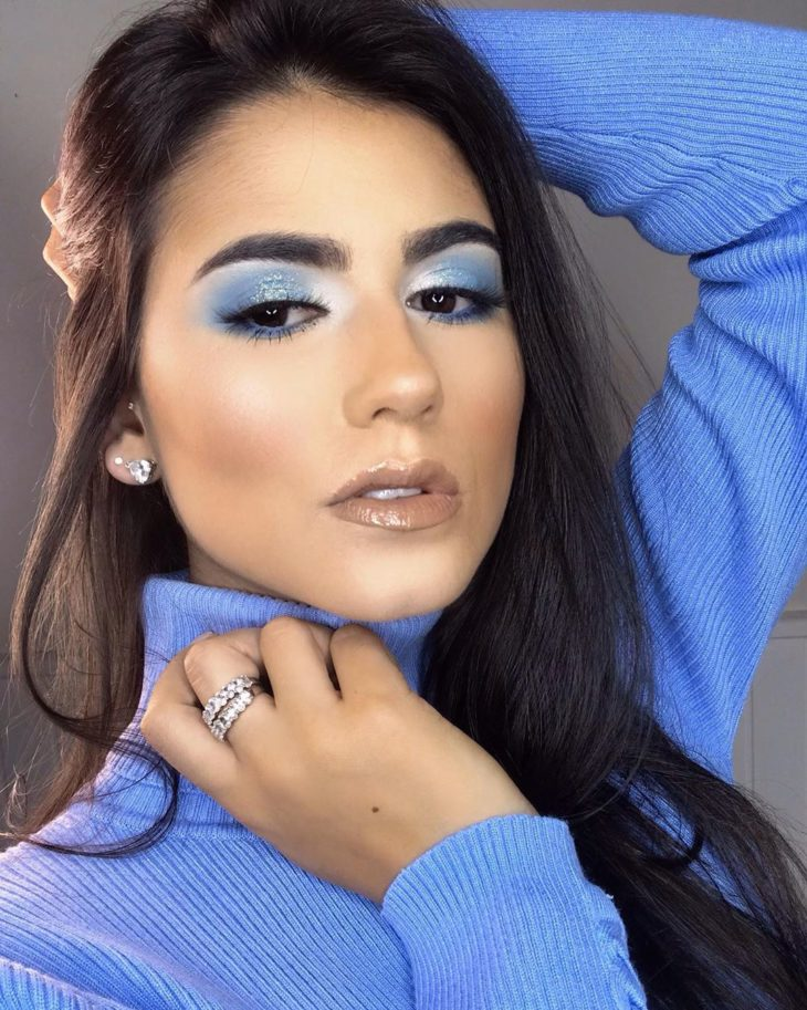 maquiagem azul 27