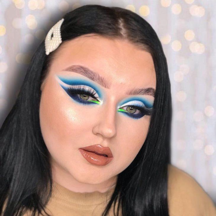 maquiagem azul 34