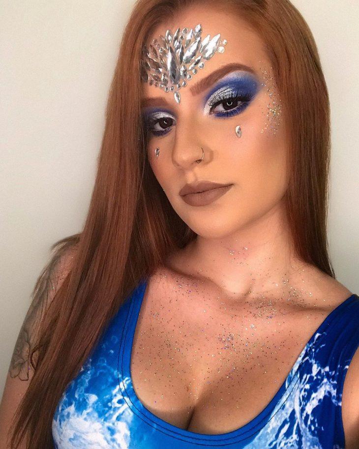 maquiagem azul 36