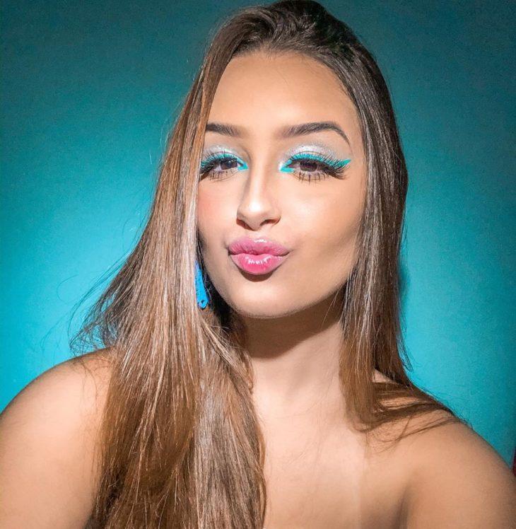 maquiagem azul 46