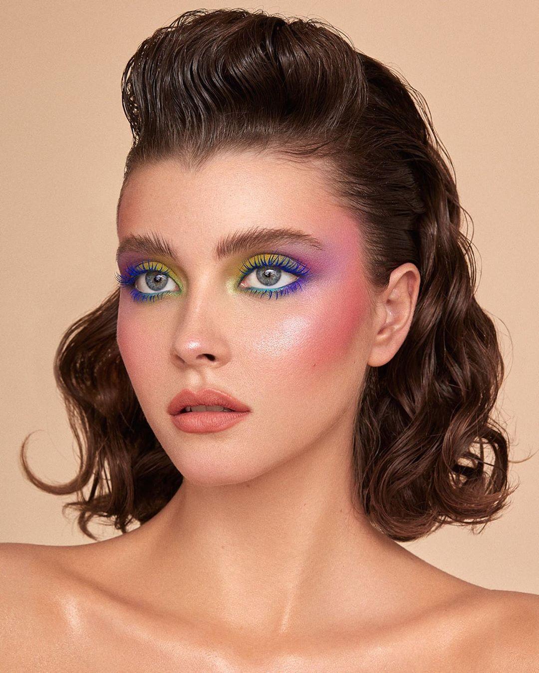 maquiagem colorida 20