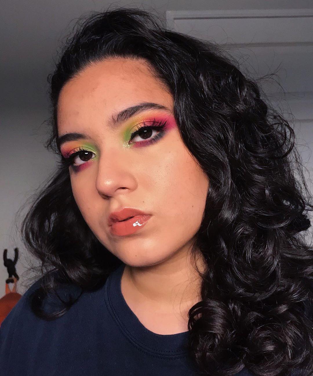 maquiagem colorida 13