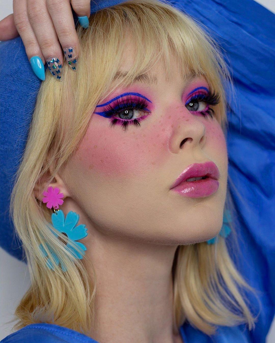 maquiagem colorida 17