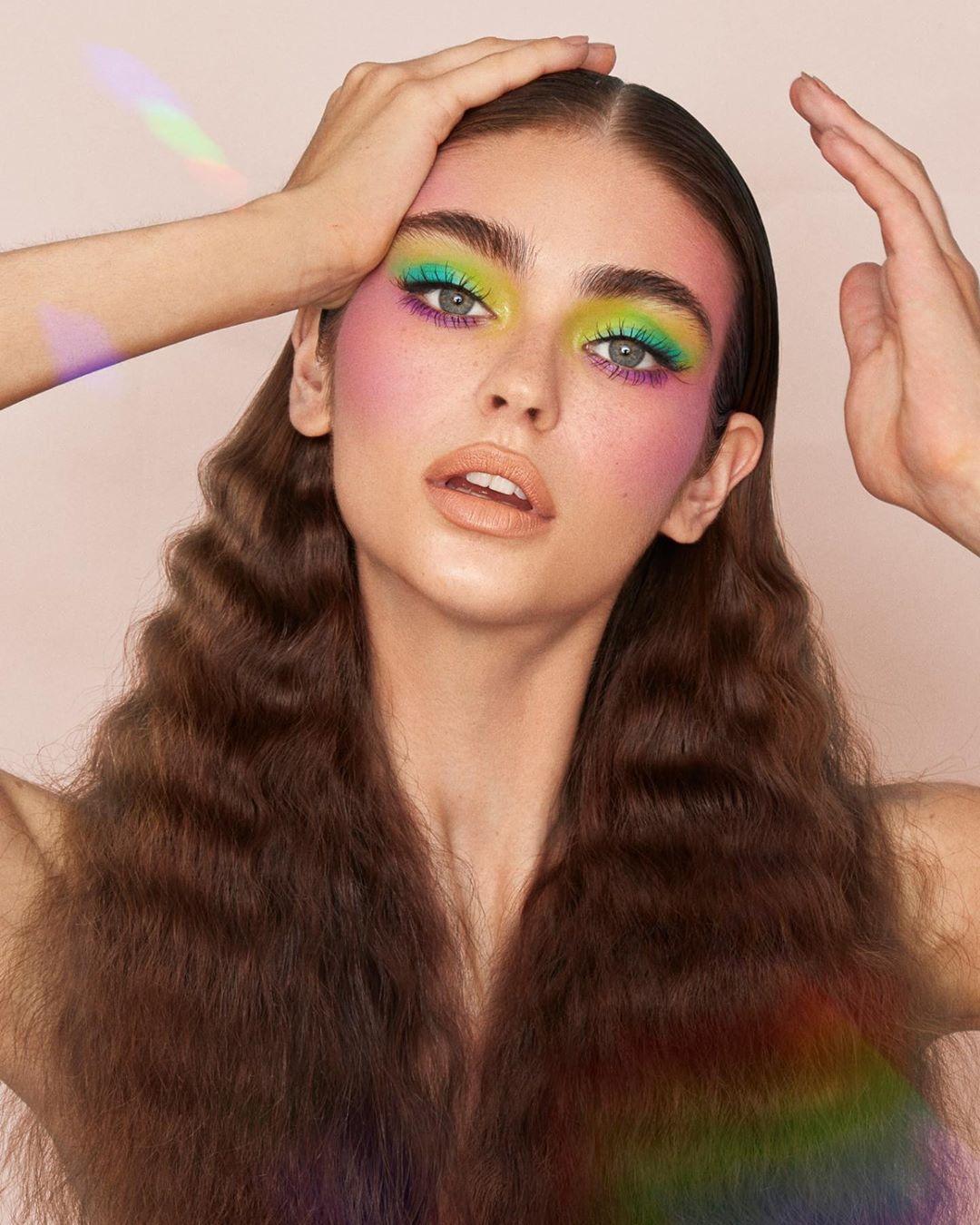 maquiagem colorida 14