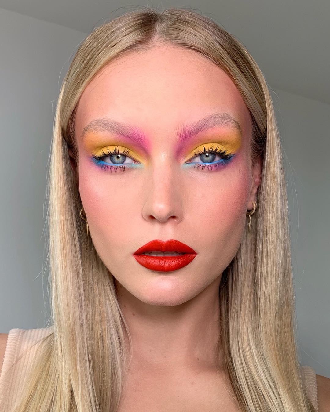 maquiagem colorida 19