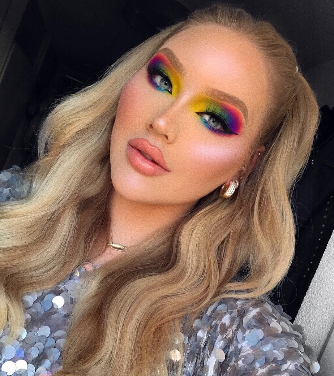 maquiagem colorida 12