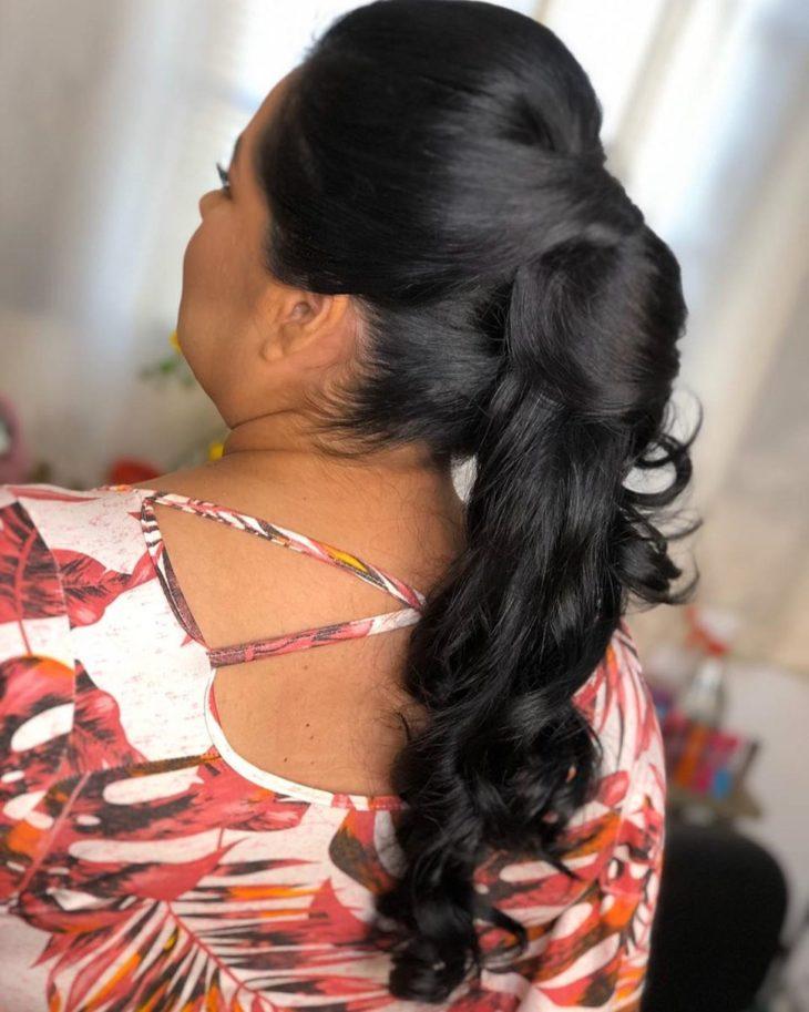 penteado rabo de cavalo 17