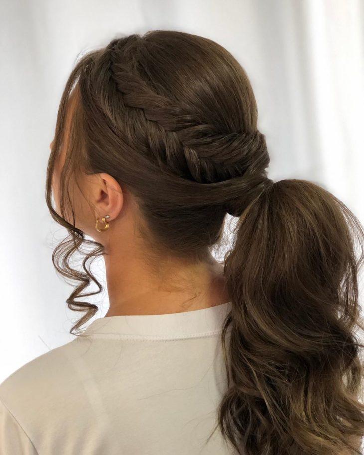 penteado rabo de cavalo 3