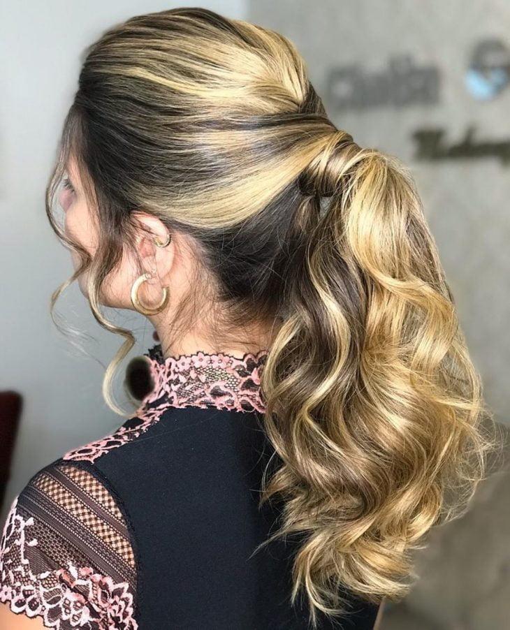 penteado rabo de cavalo 28
