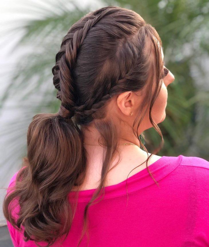 penteado rabo de cavalo 35