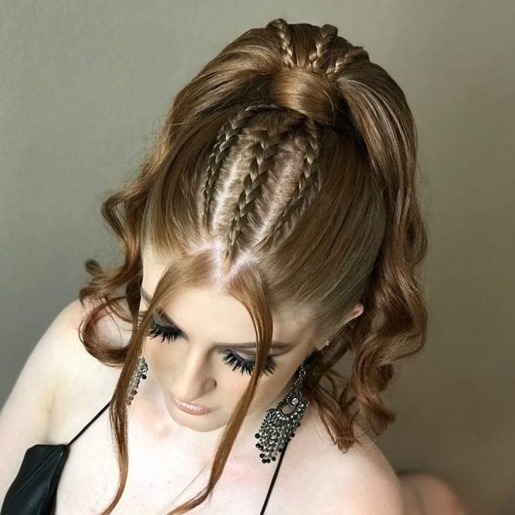 penteado rabo de cavalo 44