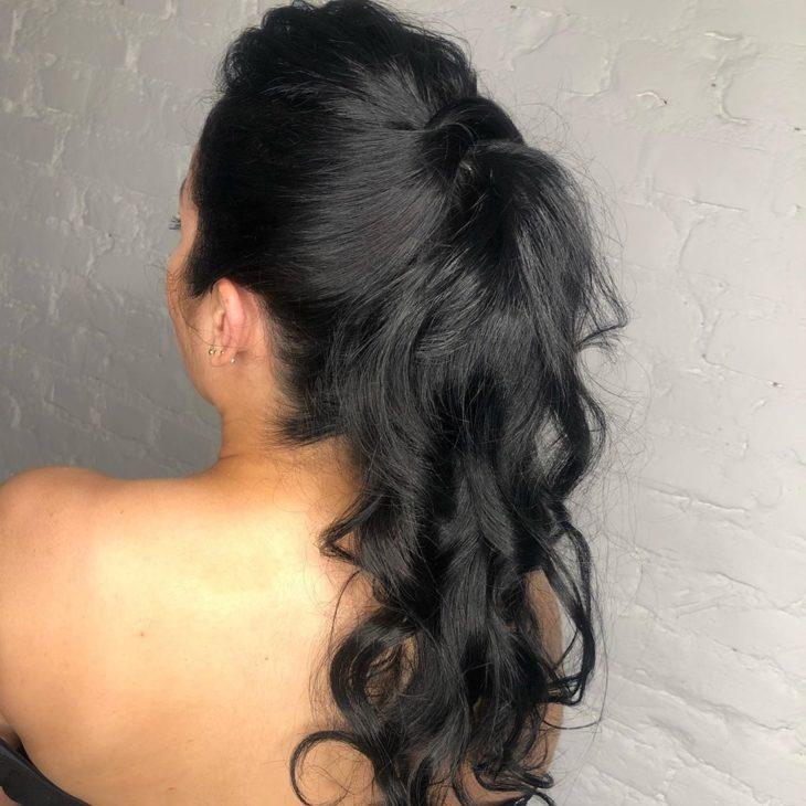 penteado rabo de cavalo 6