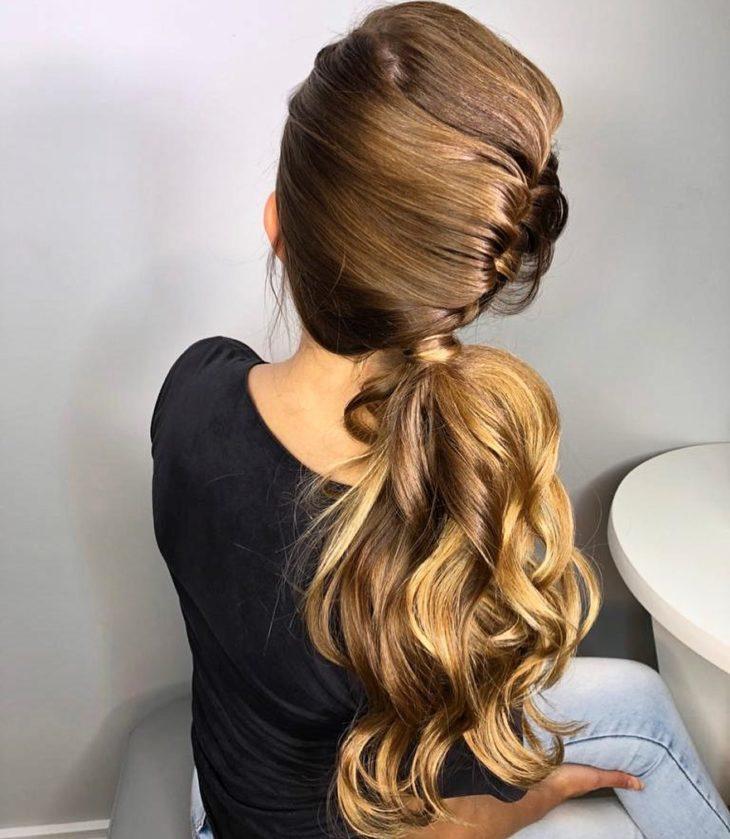 penteado rabo de cavalo 54