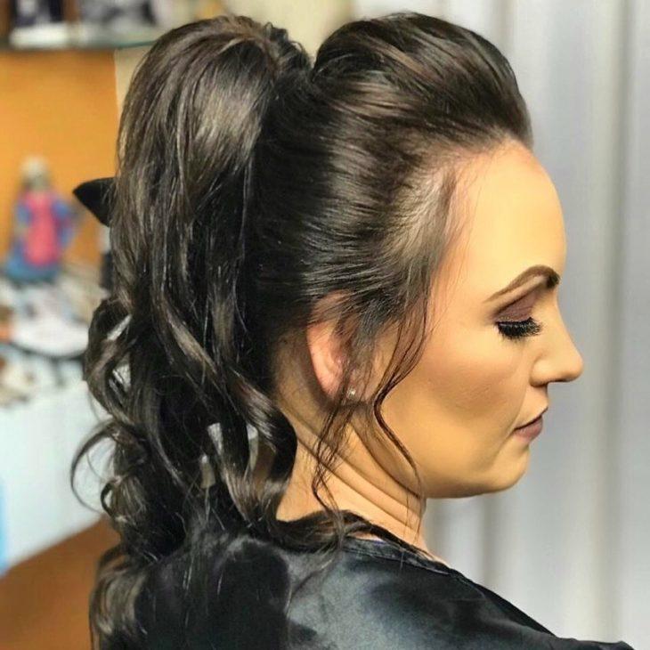 penteado rabo de cavalo 71