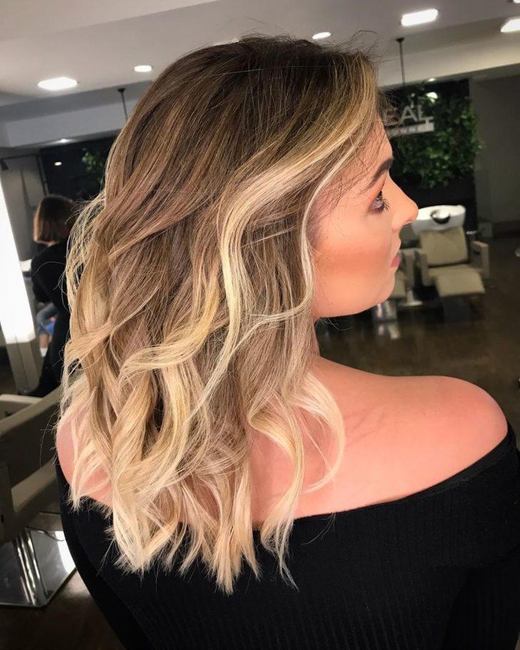ombré hair platinado 4