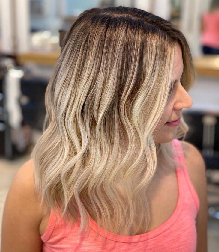 ombré hair platinado 20
