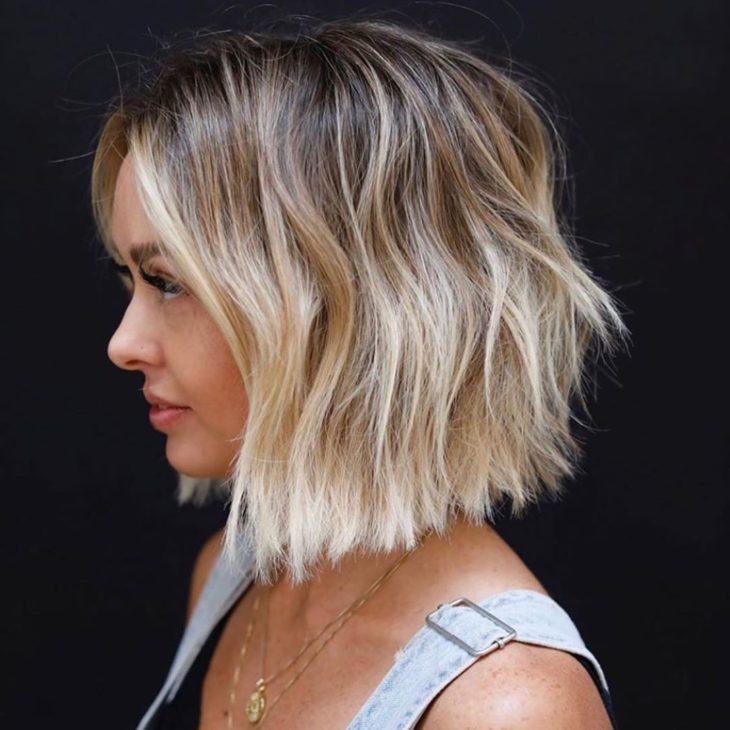 ombré hair platinado 28