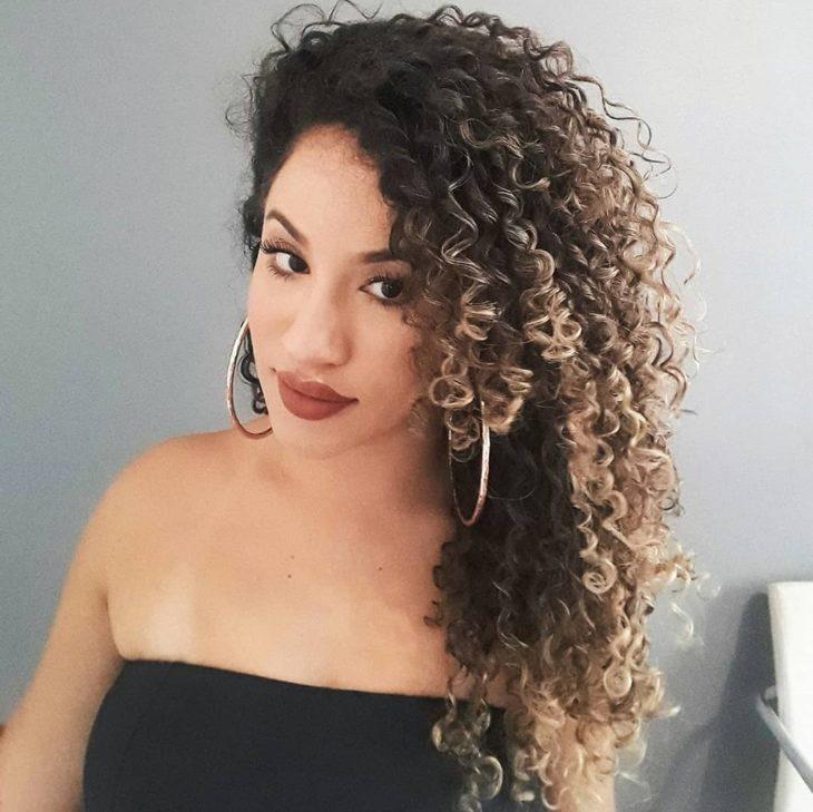 ombré hair platinado 49