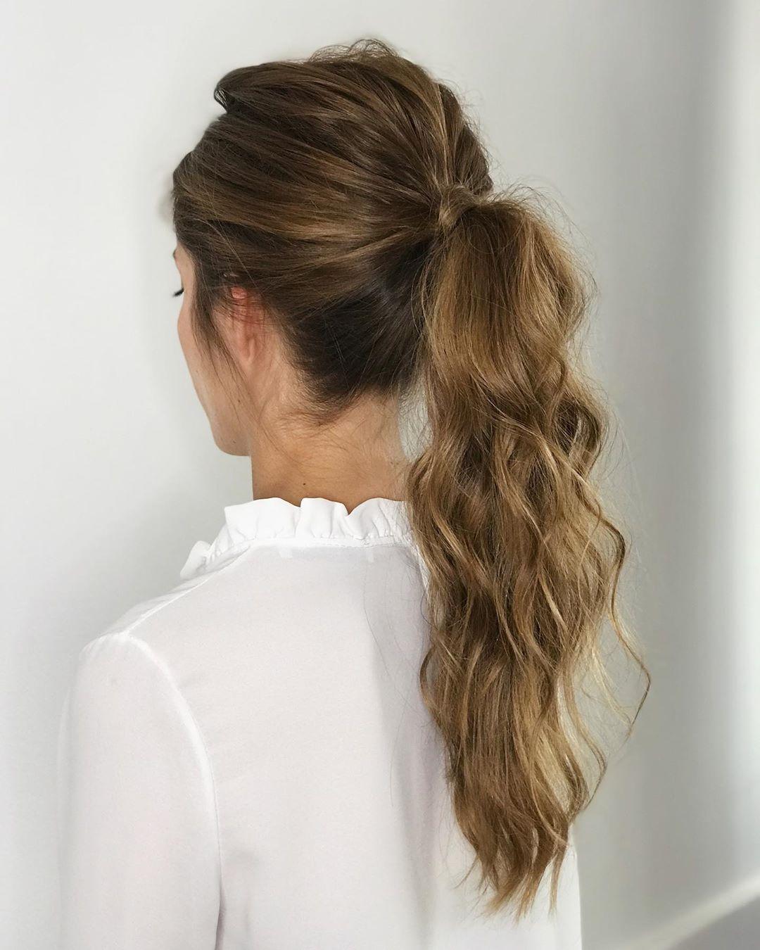 penteados simples para casamento 6