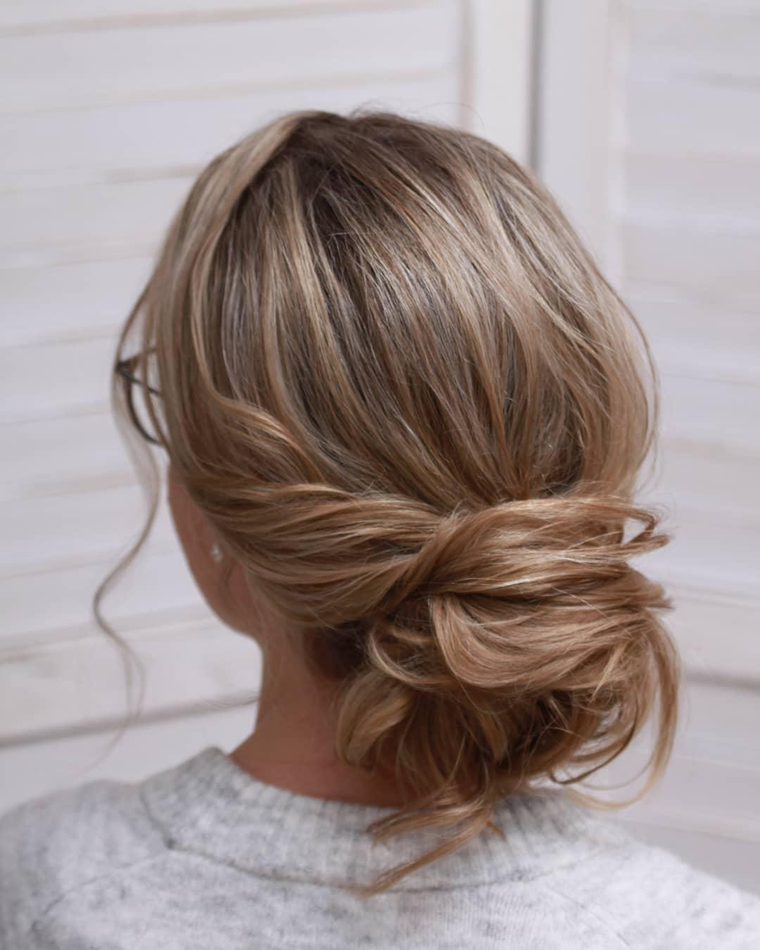 penteados simples para casamento 11