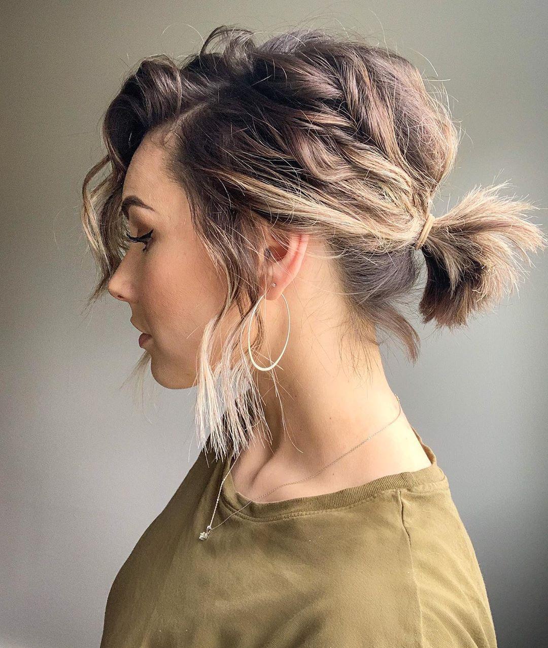 penteados simples para casamento 17