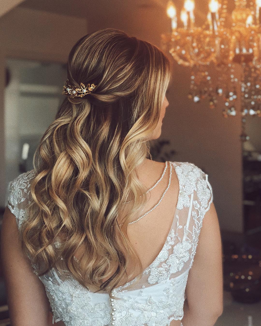penteados simples para casamento 45