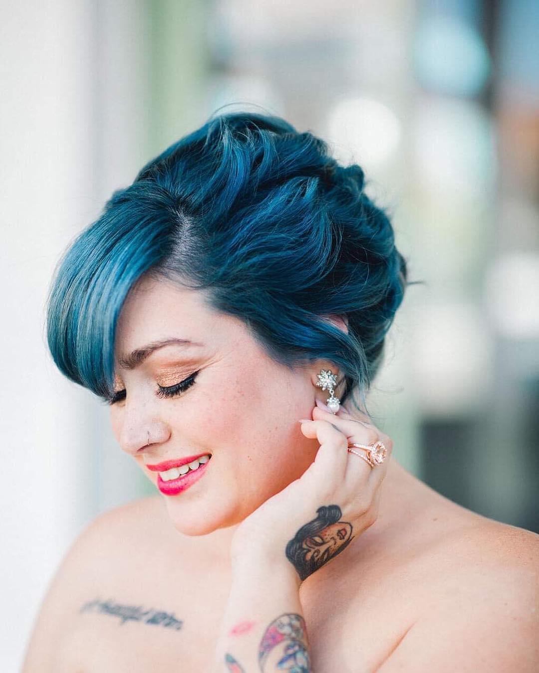 penteados simples para casamento 50